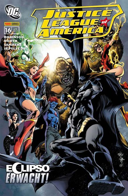 Justice League 16: Eclipso erwacht - Das Cover
