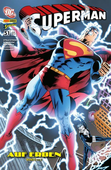 Superman Sonderband 51: Auf Erden 2 (von 2) - Das Cover