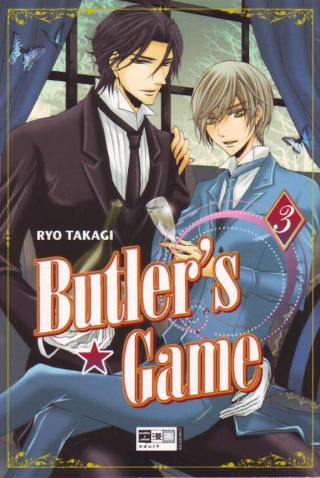 Butler's Game - Das Cover