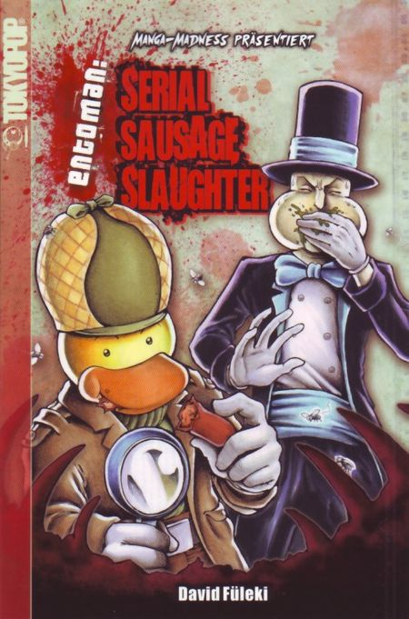 Manga Madness: Serial Sausage Slaughter - Das Cover