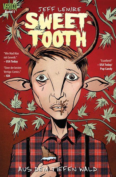 Sweet Tooth 1: Aus dem tiefen Wald - Das Cover