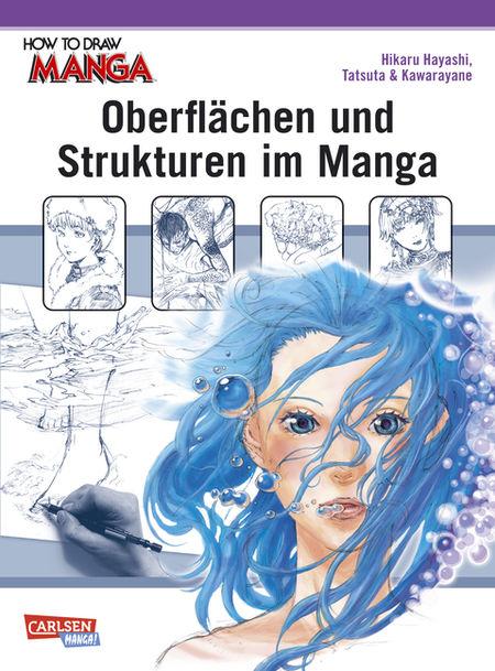 How to draw Manga - Oberflächen und Strukturen im Manga - Das Cover