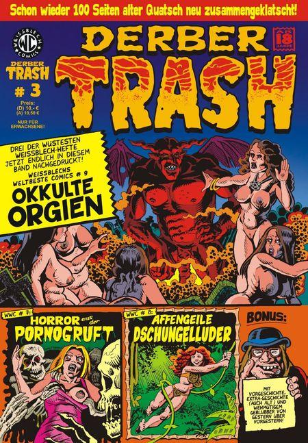 Derber Trash 3 - Das Cover