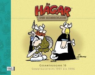 Hägar der Schreckliche - Gesamtausgabe 16 - Sonntagsstrips 1991 bis 1996 - Das Cover