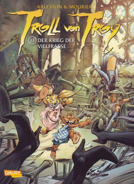 Troll von Troy 13: Der Krieg der Vielfraße - Das Cover