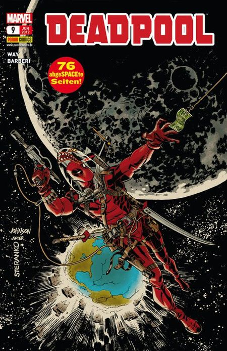 Deadpool 9 - Das Cover