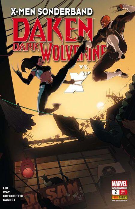 X-Men Sonderband: Daken - Dark Wolverine 2 - Das Cover
