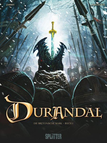Durandal 1: Die Bretonische Mark - Das Cover
