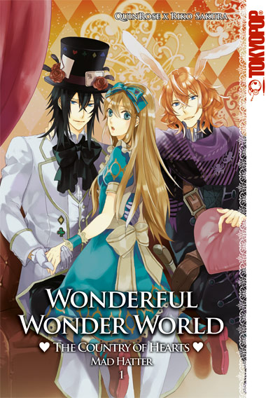 Wonderful Wonder World-Country of Hearts: Mad Hatter 1 - Das Cover