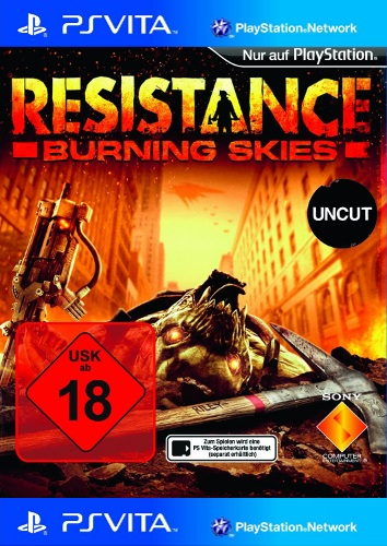 Resistance: Burning Skies - Der Packshot