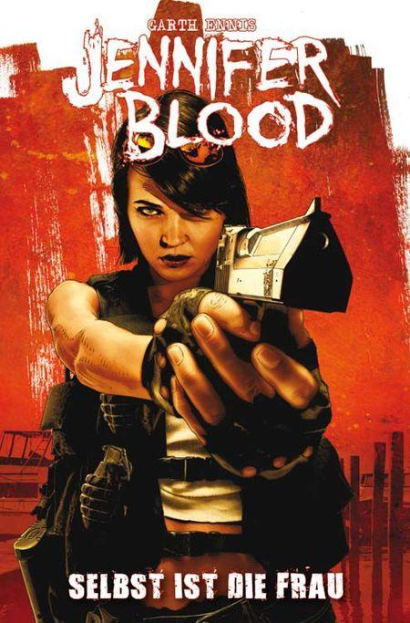 Jennifer Blood 1 - Das Cover