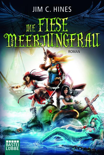 Die Todesengel 2: Die fiese Meerjungfrau - Das Cover
