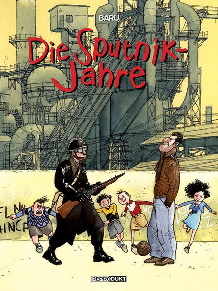 Die Sputnik-Jahre - Das Cover