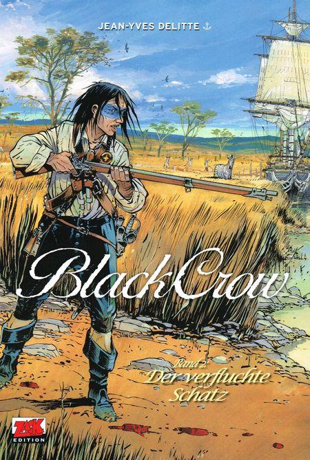Black Crow 2: Der verfluchte Schatz - Das Cover