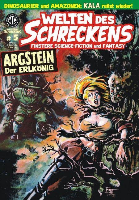 Welten des Schreckens 5 - Das Cover