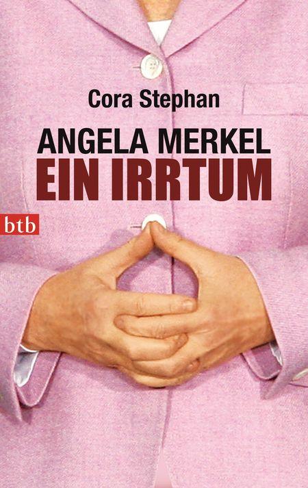 Angela Merkel. Ein Irrtum - Das Cover