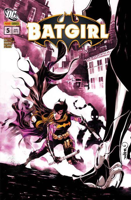 Batgirl 5: Die Lektion - Das Cover