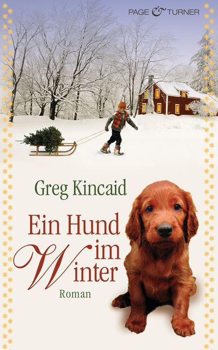 Ein Hund im Winter - Das Cover