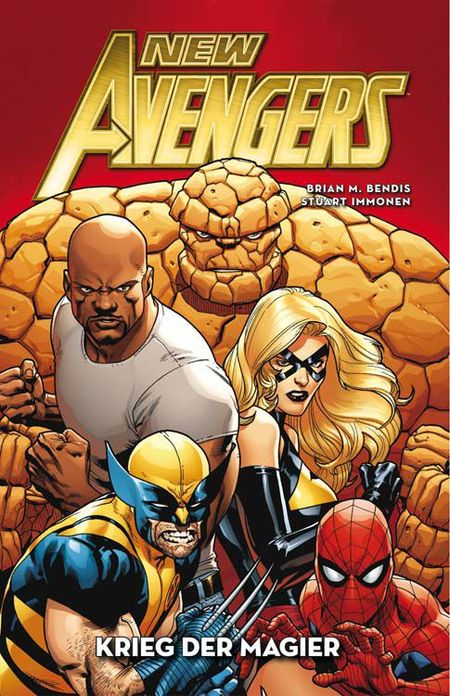 New Avengers: Krieg der Magier 1 - Das Cover
