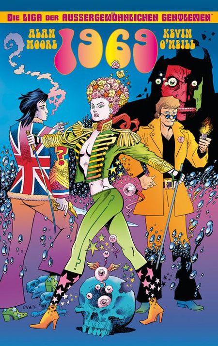 Die Liga der außergewöhnlichen Gentlemen: 1969 - Das Cover
