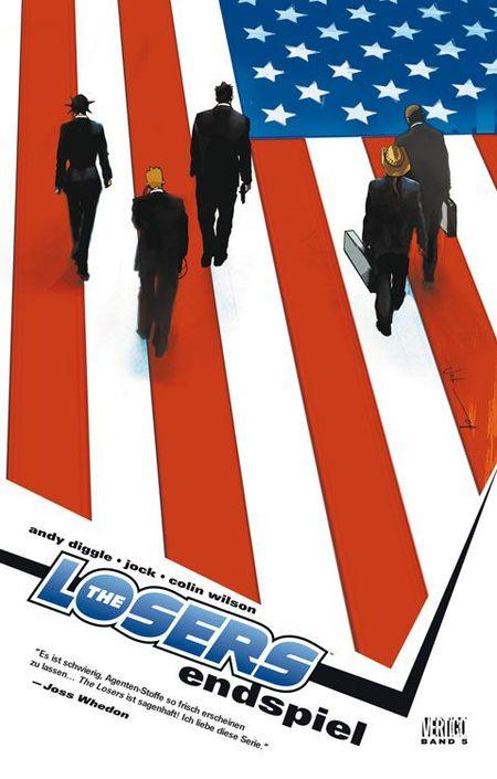 The Losers 5: Endspiel - Das Cover