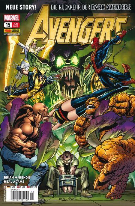 Avengers 15 - Das Cover