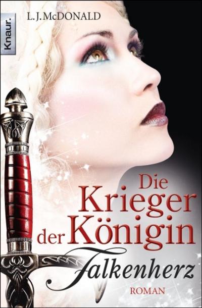 Die Krieger der Königin: Falkenherz - Das Cover