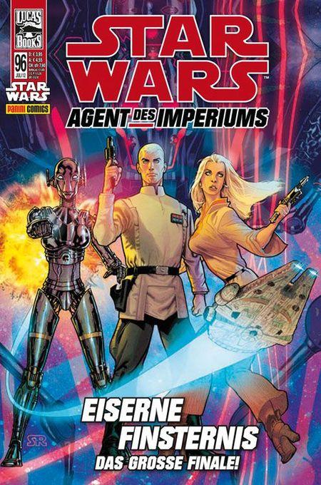 Star Wars 96: Agent des Imperiums: Eiserne Finsternis - Das Cover