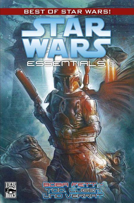 Star Wars Essentials 13: Boba Fett-Tod, Lügen und Verrat - Das Cover