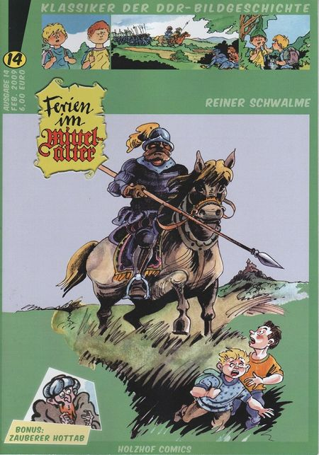 Klassiker der DDR-Bildgeschichte 14 - Das Cover