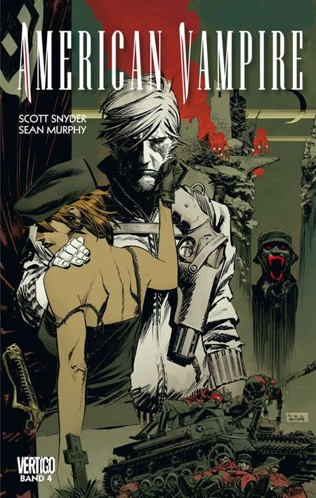 American Vampire 4 - Das Cover