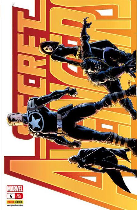 Secret Avengers 4: Die letzte Stufe - Das Cover