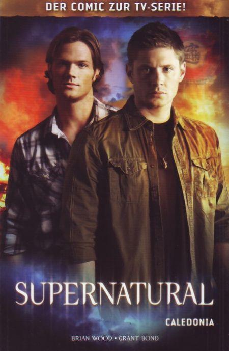 Supernatural 4: Caledonia - Das Cover