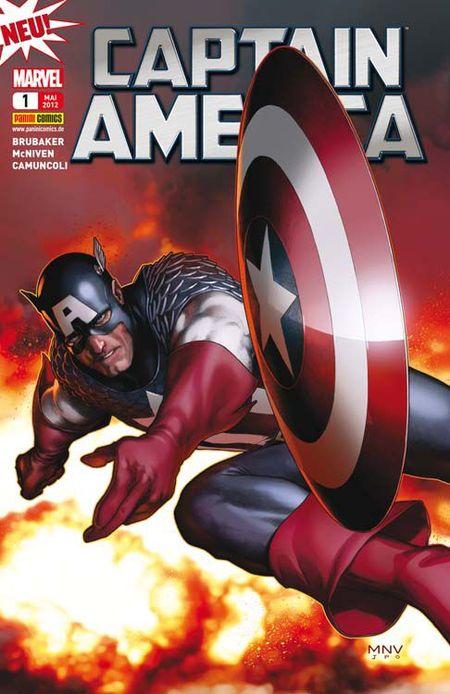 Captain America 1 - Das Cover