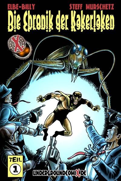Die Chronik der Kakerlaken 1 - Das Cover