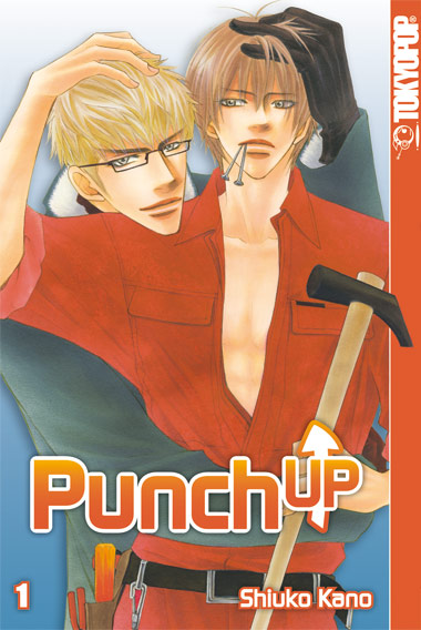 Punch up 1 - Das Cover