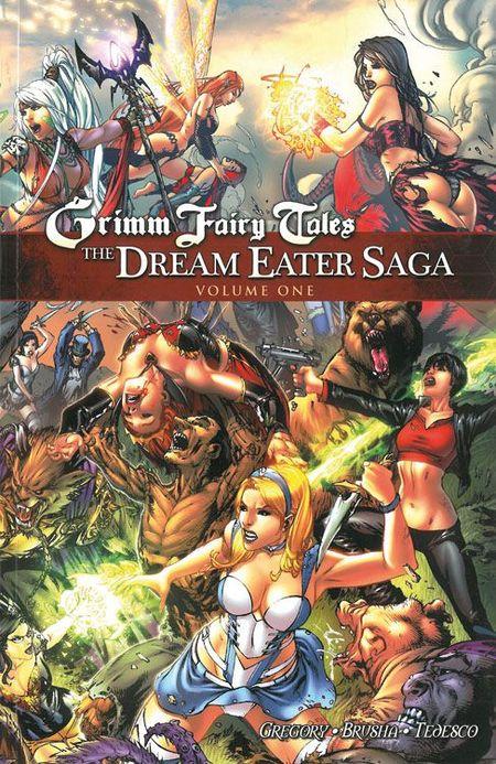 Grimm Fairy Tales: Die Traumfresser-Saga 1  - Das Cover