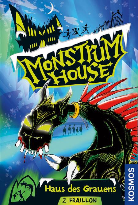 Monstrum House 01: Haus des Grauens - Das Cover
