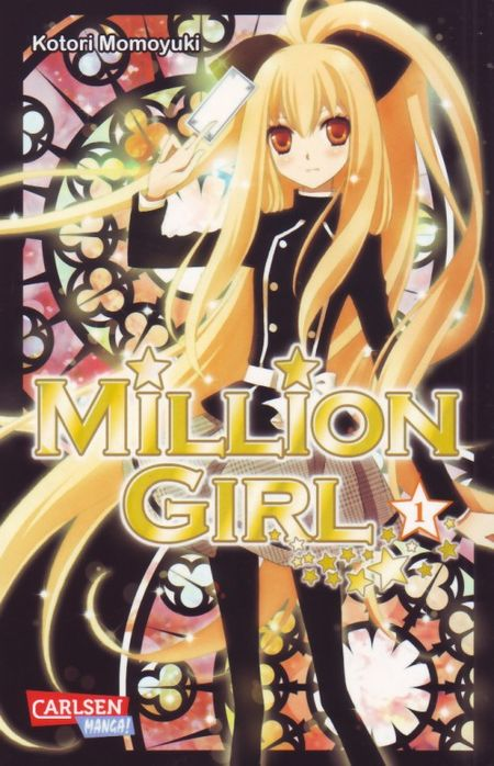 Million Girl 1 - Das Cover