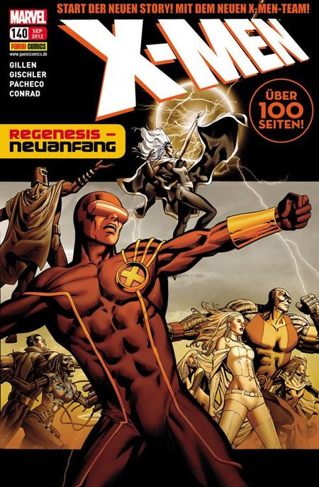 X-Men 140: Regenesis – Neuanfang - Das Cover