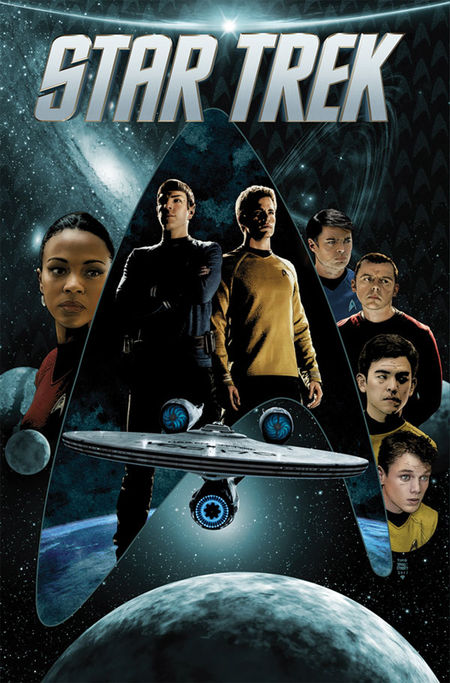 STAR TREK: Die neue Zeit 1 - Das Cover