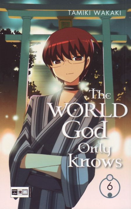 The World God only knows 6 - Das Cover