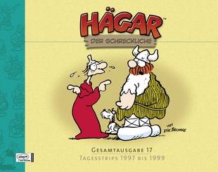 Hägar der Schreckliche - Gesamtausgabe 17 - Tagesstrips 1997 bis 1999 - Das Cover