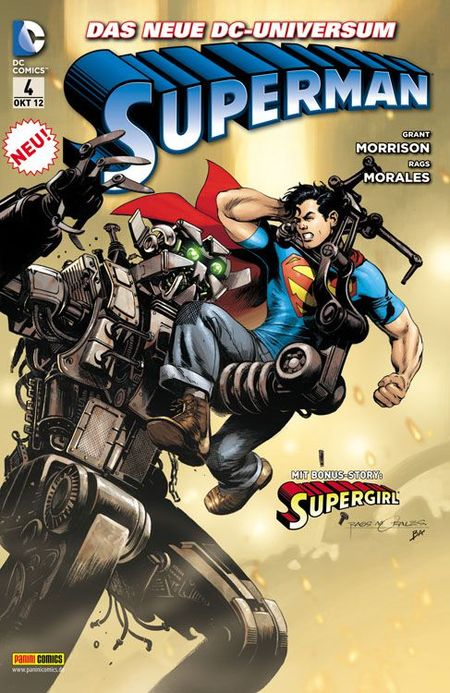 Superman 4 - Das Cover