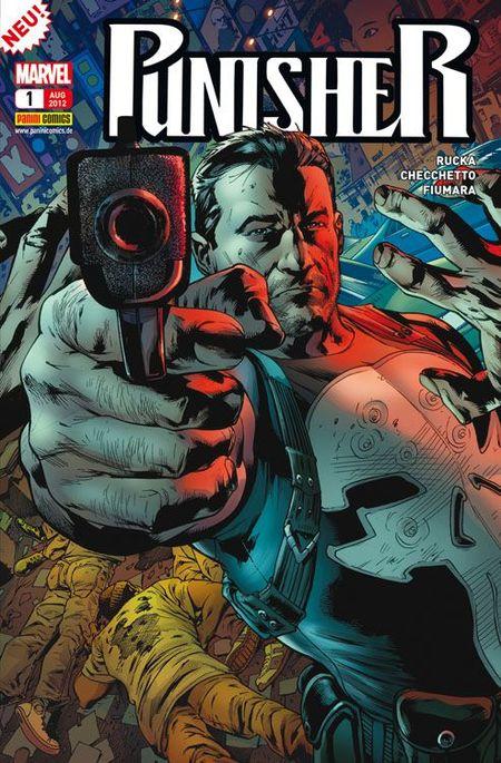 Punisher 1: Ermittlungen - Das Cover