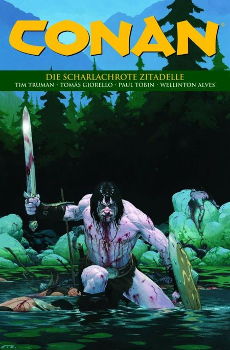 Conan 18: Die scharlachrote Zitadelle - Das Cover