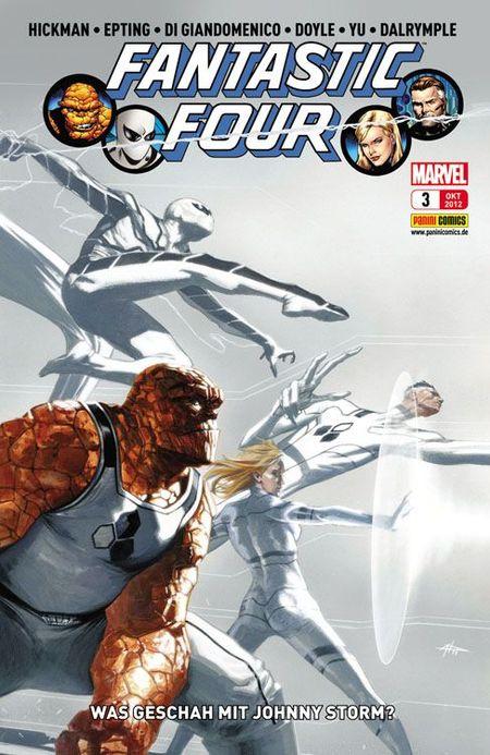 FF - Fantastic Four 3 - Das Cover