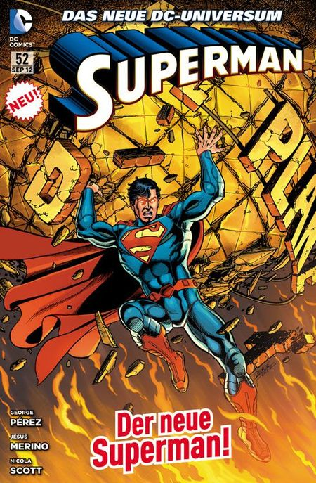 Superman Sonderband 52: Der Preis der Zukunft - Das Cover