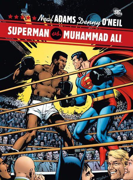 Superman vs. Muhammad Ali - Das Cover