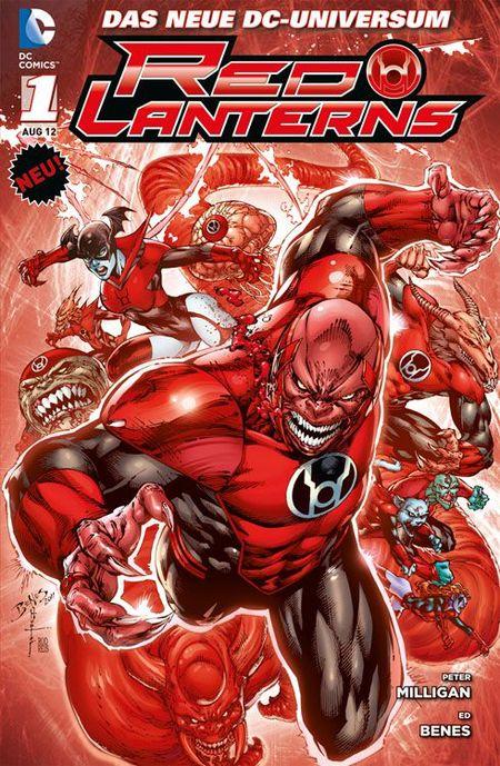 Red Lanterns 1: Blut und Zorn - Das Cover